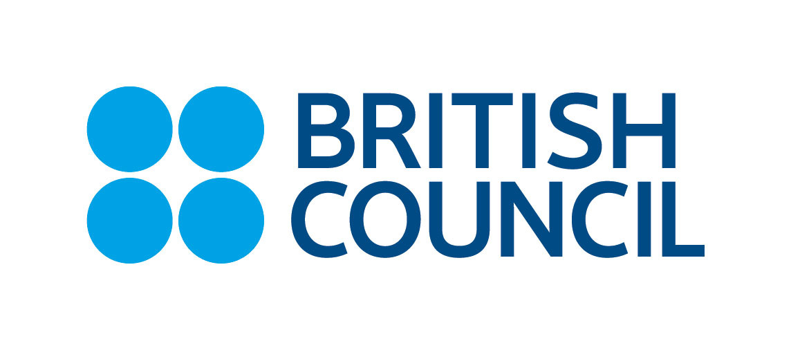 Logo British Council - blue